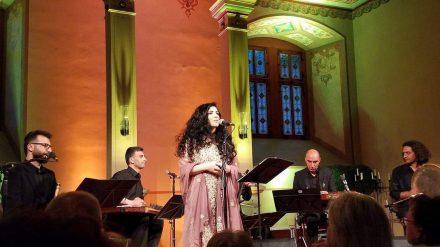 Rita William and Nouruz Ensemble in Holzminden