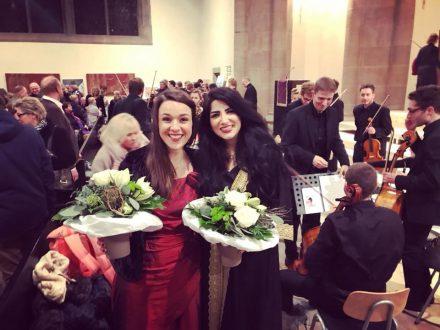 Rita William mit dem Würzburg Orchester