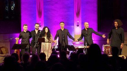 With Nouruz Ensemble in Holzminden