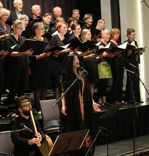 Kirchentag Frankfurt - Rita William